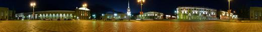 Ангарск ночью