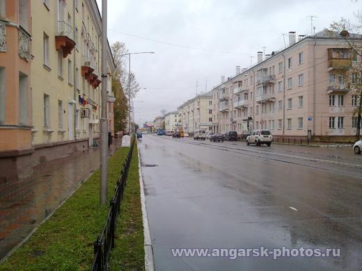 Улица Гагарина в противоположную сторону