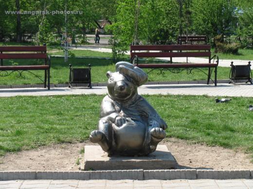 анекдот статуя