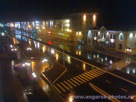 Центральная улица Ангарска