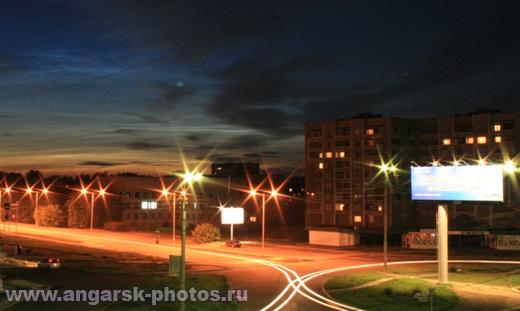 Пересечении улиц Коминтерна и Космонавтов