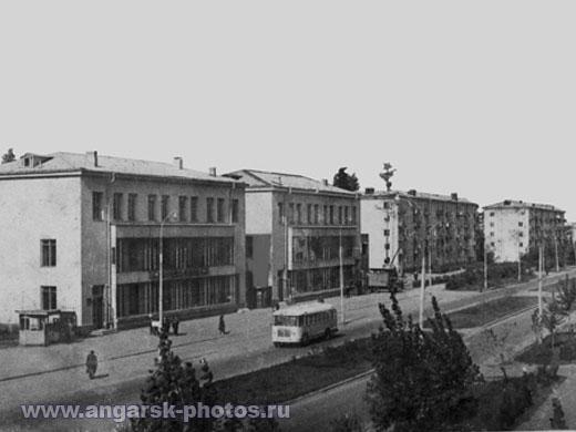 фото ул Ворошилова 1970г Ангарск