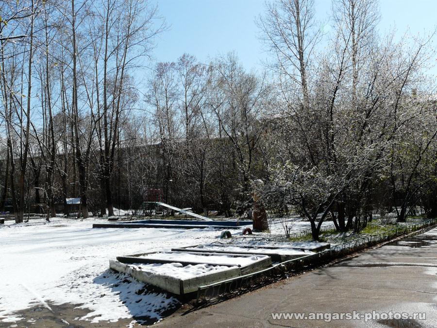 Ангарск в снегу