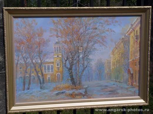Картина ангарской площади