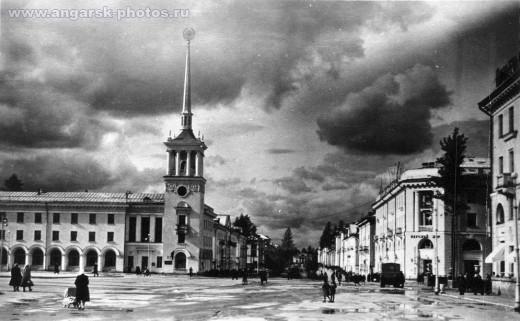 Проспект Сталина в Ангарске