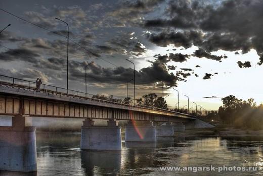 Новый мост через Китой в Ангарске