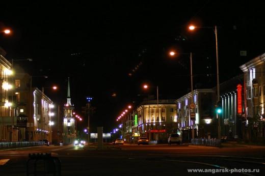 Ночной Ангарск