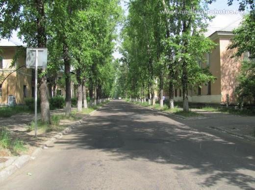 Улица Октябрьская в Ангарске