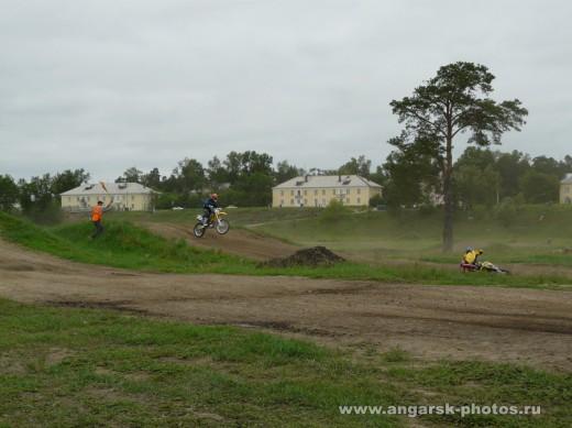 гонки на мотоциклах в Ангарске
