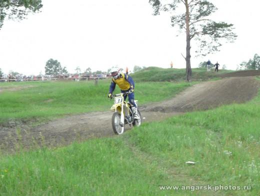 на мотоцикле по Ангарску