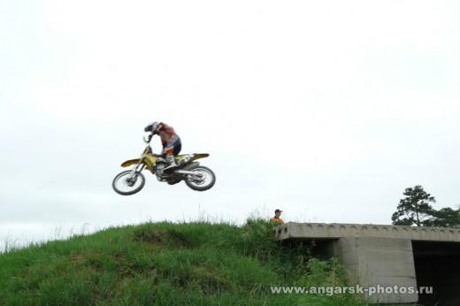 Прыжок на мотоцикле Ангарск