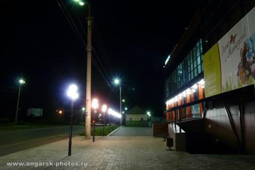 Улица Коминтера ночью