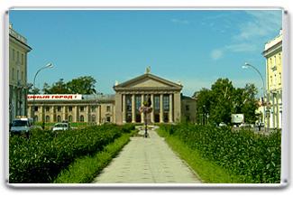 Сувенир с фотографией площади Ангарска